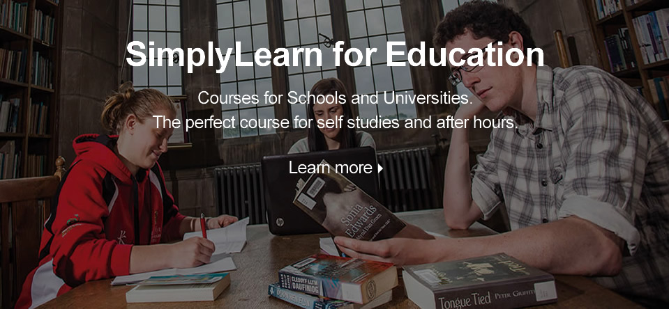 SimplyLearn for Schools and Universities